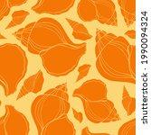 trendy flat silhouette sea...   Shutterstock .eps vector #1990094324