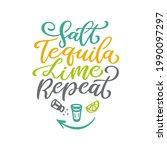 salt tequila lime repeat...   Shutterstock .eps vector #1990097297