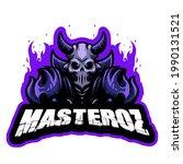 elements masteroz esport logo... | Shutterstock .eps vector #1990131521
