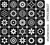 design elements set  abstract...   Shutterstock .eps vector #1990138637