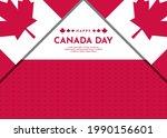 canada day celebration...   Shutterstock .eps vector #1990156601