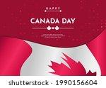 canada day celebration...   Shutterstock .eps vector #1990156604
