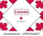 canada day celebration...   Shutterstock .eps vector #1990156607