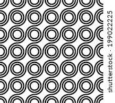 seamless vector geometric ... | Shutterstock .eps vector #199022225