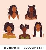 afro american black women... | Shutterstock .eps vector #1990304654