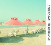 Turquoise Retro Beach