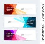 vector abstract graphic design... | Shutterstock .eps vector #1990410971