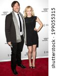 Small photo of NEW YORK, NY - APRIL 24: Producer Gabriel Cowan and Ame Eaton attend the 'Just Before I Go' Premiere during the 2014 Tribeca Film Festival at the SVA Theater
