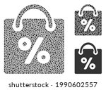 collage shopping discount icon...   Shutterstock .eps vector #1990602557