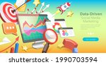 3d isometric flat vector... | Shutterstock .eps vector #1990703594