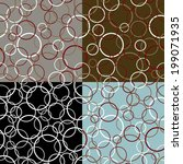 seamless colors ring pattern   Shutterstock .eps vector #199071935