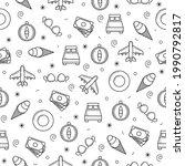 seamless pattern abstract...   Shutterstock .eps vector #1990792817
