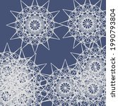 silver vintage print ice... | Shutterstock .eps vector #1990793804