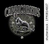 zodiac sign capricorn astrology ...   Shutterstock .eps vector #1990814837