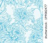 vintage seamless  floral... | Shutterstock .eps vector #199082477