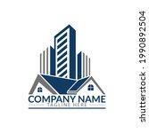 real estate logo concept...   Shutterstock .eps vector #1990892504
