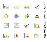 infographics icons vector eps10 | Shutterstock .eps vector #199097537