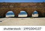 An Aqueduct Running Across The...
