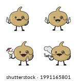 mr. jicama. fruit cartoon...   Shutterstock .eps vector #1991165801