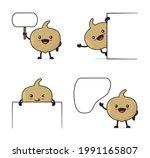 jicama fruit cartoon. and a...   Shutterstock .eps vector #1991165807