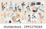 arts set as professional...   Shutterstock .eps vector #1991174264