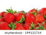 Fresh Red Ripe Strawberries...