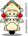 sandwich mascot character...   Shutterstock .eps vector #1991235374