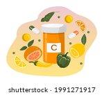 vector hand drawn illustration... | Shutterstock .eps vector #1991271917