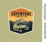 camper van or recreational...   Shutterstock .eps vector #1991319761