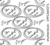 love you hearts romantic... | Shutterstock .eps vector #1991364371