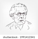 jean piaget swiss psychologist... | Shutterstock .eps vector #1991412341