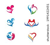 hand care icon template vector... | Shutterstock .eps vector #1991422451