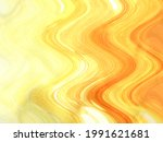 abstract yellow paint brush art ... | Shutterstock . vector #1991621681
