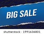 big sale word concept vector...