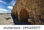 The Ruins Of A Roman Aqueduct...