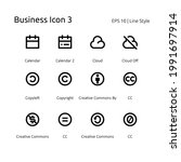 business pixel perfect set icon  | Shutterstock .eps vector #1991697914