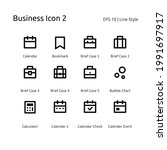business pixel perfect set icon  | Shutterstock .eps vector #1991697917