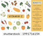 infographic benefits and...   Shutterstock .eps vector #1991716154