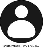 contact icon vector and sign... | Shutterstock .eps vector #1991732567