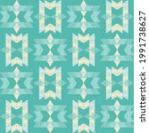 mexican plaid. navajo. seamless ...   Shutterstock .eps vector #1991738627
