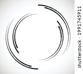 lines in circle form . spiral...   Shutterstock .eps vector #1991745911