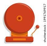 sound alarm school wall bell.... | Shutterstock .eps vector #1991769917