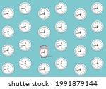 abstract vector pattern in...   Shutterstock .eps vector #1991879144