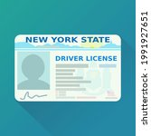 new york state driver's license ... | Shutterstock .eps vector #1991927651