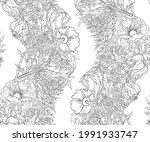 floral seamless pattern ... | Shutterstock .eps vector #1991933747