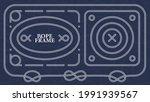 vector set of various sea knots ... | Shutterstock .eps vector #1991939567