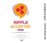 creative ripple icon with text  ... | Shutterstock .eps vector #1991948924