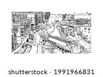 building view with landmark of...   Shutterstock .eps vector #1991966831