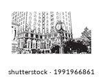 building view with landmark of...   Shutterstock .eps vector #1991966861