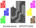 spokane county  state of...   Shutterstock .eps vector #1991971184